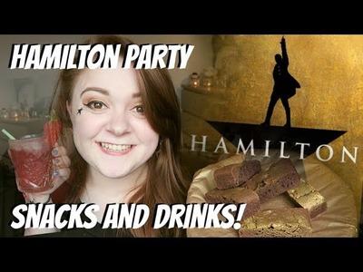 HOW TO THROW A DIY HAMILTON PARTY! Amy Lovatt