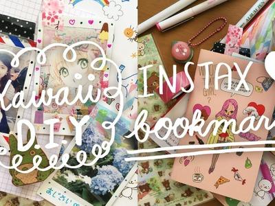 ♡ KAWAII DIY : Instax. Polaroid Bookmarks ♡
