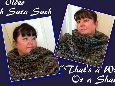 Live With Sara - Is it a Shawl or a Wrap?