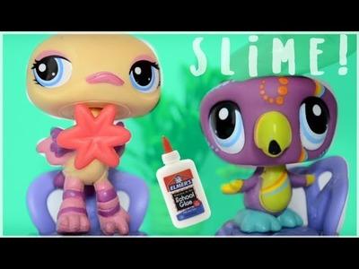 LPS Making Slime! DIY Slime!