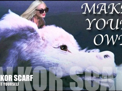 Make your own Falkor Scarf