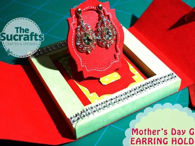 Mother's Day Gift 1 | Earring Holder | The Sucrafts