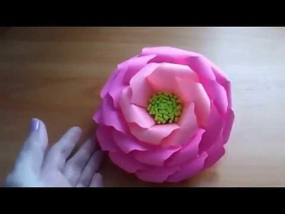 Paper Flower Crafts Ideas  Simple and Easy To Make an Origami Rose  DIY Tutorial For Adults and Kids