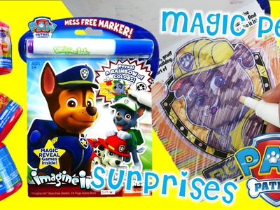 Paw Patrol Imagine Ink Coloring Episode With Mashem Surprises | Evies Toy House