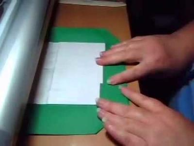 PCS038 How I bind my POP UP books