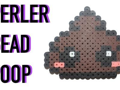 Perler Bead Poop