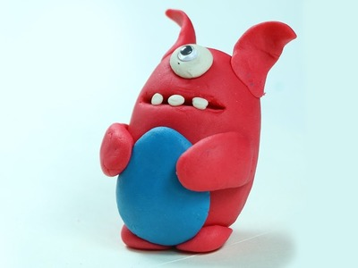 Play Doh Crafts for Kids - Fun Cartoon with Clay Modelling