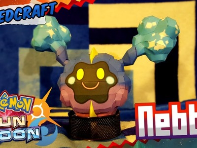 Pokemon Sun & Moon Papercraft ~ Nebby ~
