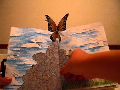 Pop up book _ Hope for the Flowers