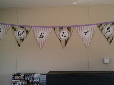 Quick and Easy No Sew Banner