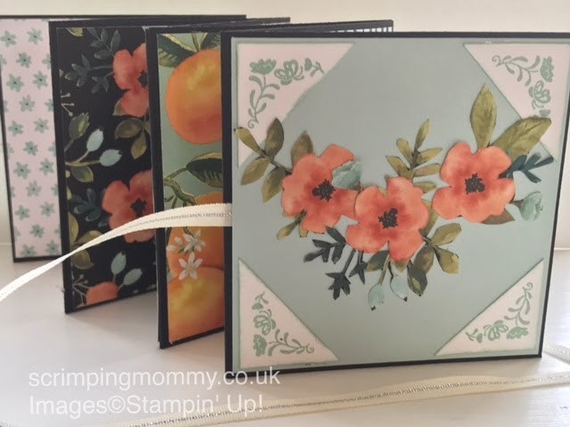 """Quick mini album """"Whole lot of lovely"""" by Stampin' Up!"""