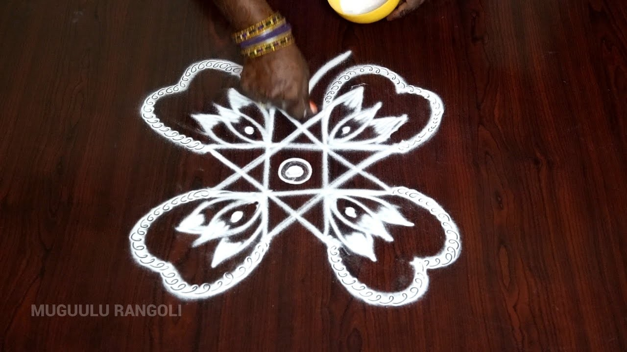 Rangoli Designs Simple And Easy Easy Kolam Designs For Beginners