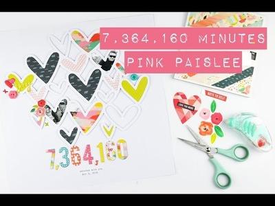 Scrapbook Process Video - 7,364,160; Pink Paislee