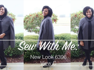 Sew With Me: New Look 6396 Cape View C