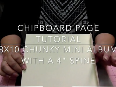 ????????SHABBY CHIC LACE MINI ALBUM TUTORIAL???????? | CHIPBOARD PAGES