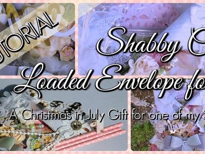 Shabby Chic Loaded Envelope Tutorial