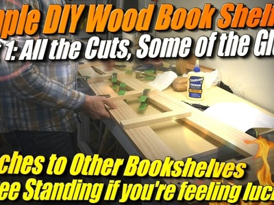 Simple DIY Bookshelf from Cheap Pine, Part 1: Hand Sawing and Planing with Simple Tools