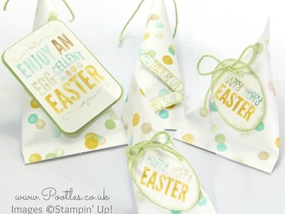 Stampin' Up! Easter Sour Cream Pouches Varying Sizes