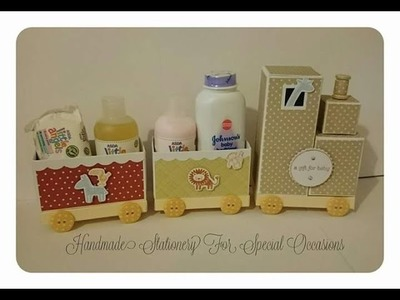 Stampin Up Zoo Babies Train Tutorial part 1