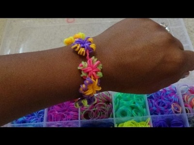 Talented Kidz 8400+ Loom Band Refill with Accessories Kit Review & Flower Charm Bracelet Tutorial!