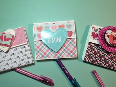 Valentine Post It Note Holders With Tutorial