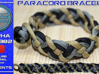 VIKING Paracord Bracelet How To Make EPIC