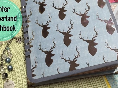 Winter Wonderland Smashbook. Memory Keeping Ideas for December Daily | I'm A Cool Mom