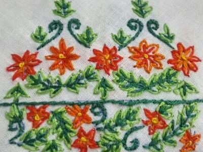 15-Simple straight stitch embroidery(Hindi.Urdu)