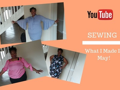 [178] Sewing|What I Made In May (M6886 Bow Ties)