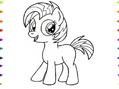 Babs Seed My Little Pony Coloring Book   Drawing and Animated Drawing My Little Pony for Kids