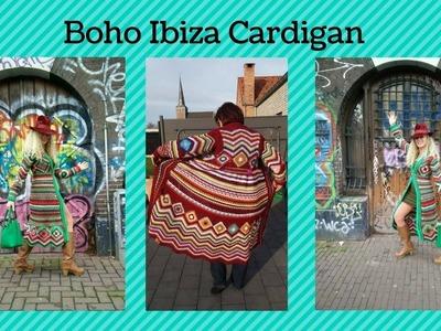 Boho Ibiza Cardigan part 4 - 2