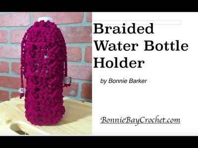 Braided Water Bottle Holder by Bonnie Barker