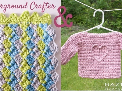 Crosshatch Stitch Baby Blanket - COLLAB with Naztazia - Crochet for Charity