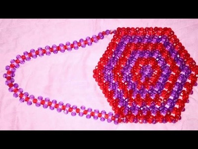 Crystal pearl beaded Handbag DIY
