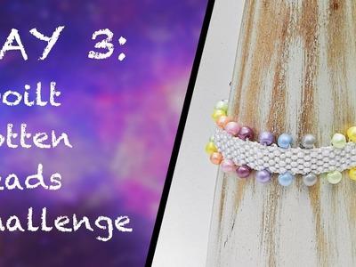 DAY 3: Kumihimo challenge - Beaded Flat Braid