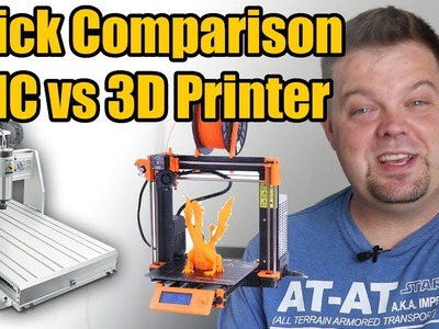 DIY CNC vs 3D Printer: Which is right for you?