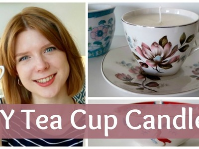 DIY: How to Make Tea Cup Candles