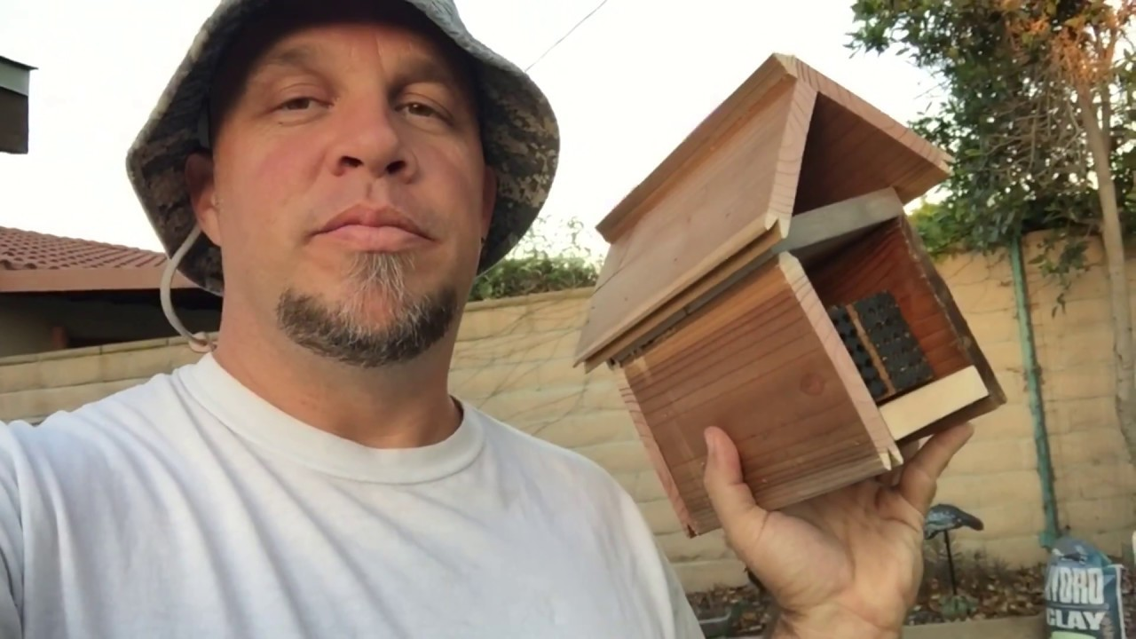 DIY Leafcutter Bee House