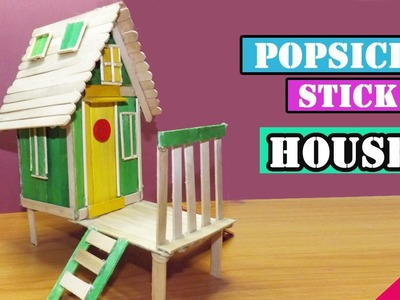 DIY Popsicle Stick House #16 | Easy Crafts for kids