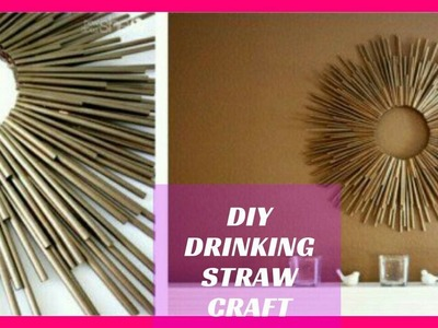 DIY Sun Mirror | Drinking Straw Hack | Home Decor - Room Decor 2017