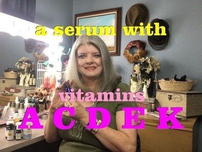 DIY Vitamin A, C, D, E & K Serum Mix and Match for Your Needs