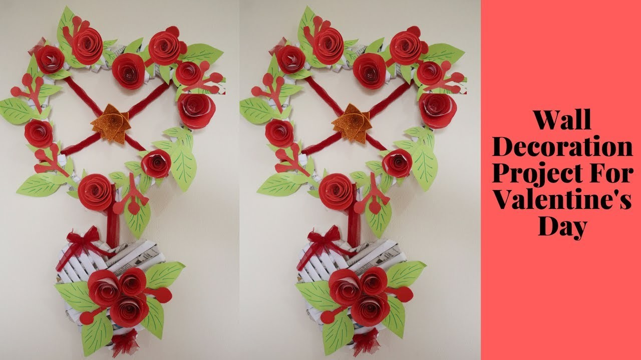Diy Wall Decoration Project For Valentines Day Heart