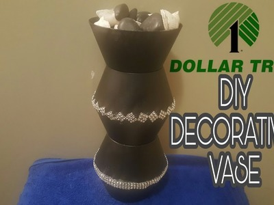 DOLLAR TREE DIY: VASE COST ABOUT $5