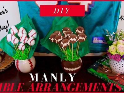 DOLLAR TREE EDIBLE ARRANGEMENT | GIFT IDEAS FOR MEN