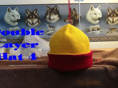 Double Layer Hat 4, Part 2 of 3