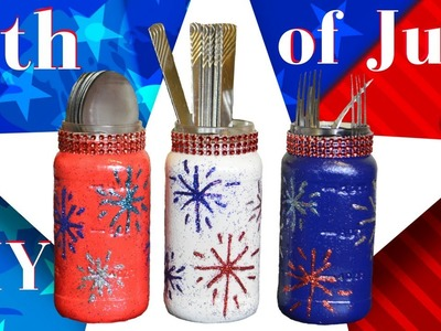 Easy 4th Of July DIY Ideas.Upcycle