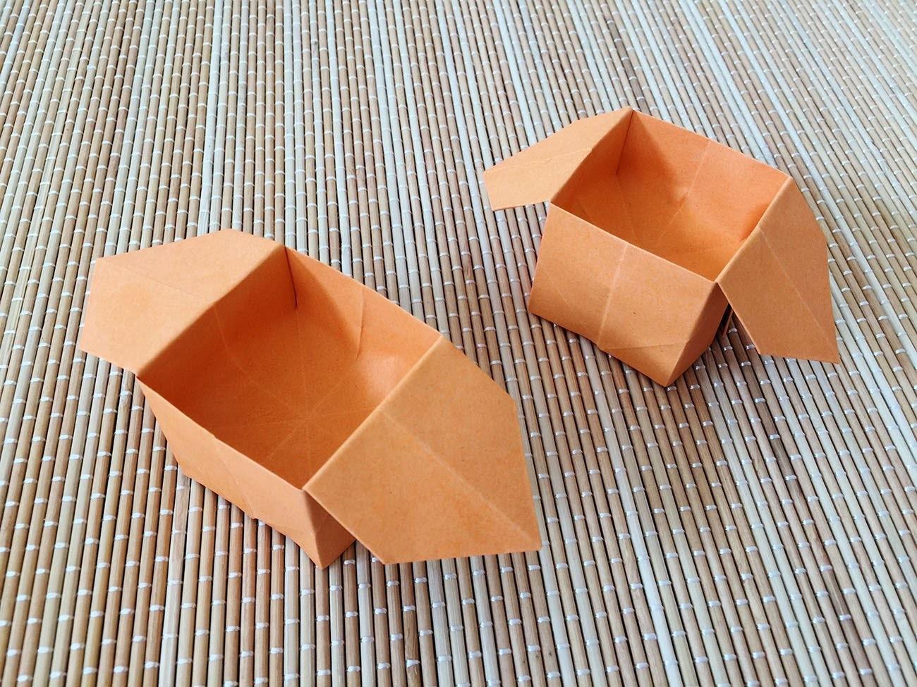 Easy Origami Box - photo#17