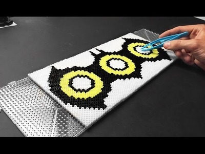 Fidget Spinner FAN ART Batman Design Perler Hama Beads