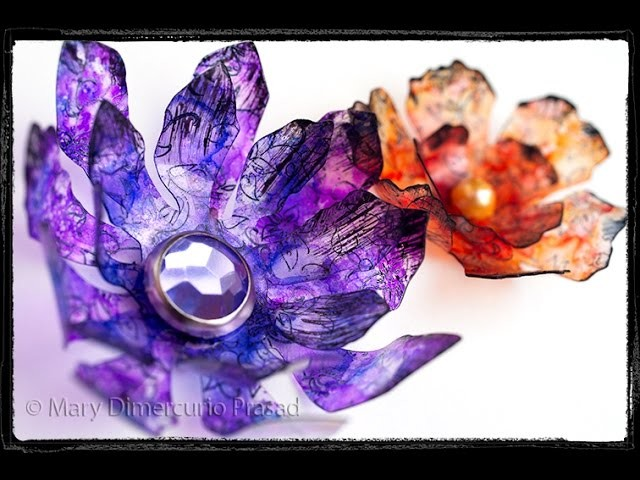 How to Create Faux Glass Flowers