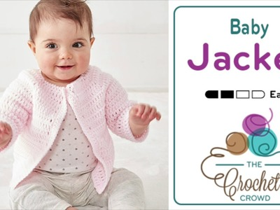 How to Crochet An Easy Baby Jacket